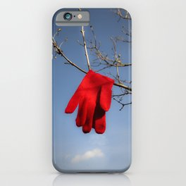 Lost Glove iPhone Case