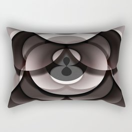 Overlay Doughnut Box Rectangular Pillow