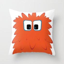 Bubble Beasts: Ferociously Fresh Foaming Paw Scrubber Throw Pillow