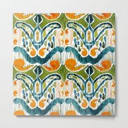 Balinese Pattern 22 Metal Print