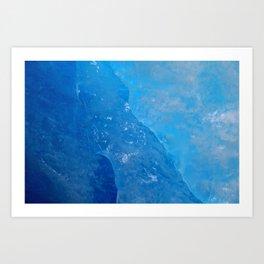 glacial ice 3 Art Print