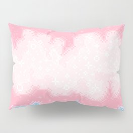 Trans Pride Flag Galaxy Pillow Sham