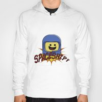 spaceship Hoodies featuring Spaceship!  by Brieana