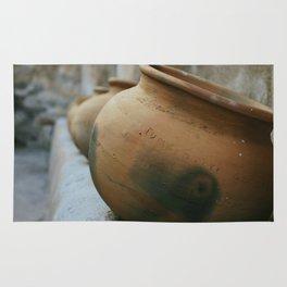 Tumacacori Pots fine art photography Rug
