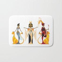 The Divas of Egypt Bath Mat