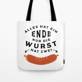 German Sausage Oktoberfest Tote Bag
