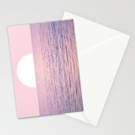Pink on the Sea Stationery Cards
