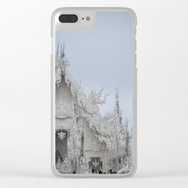 The White Temple - Thailand - 001 Clear iPhone Case