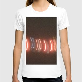 Abstracte Light Art in the Dark 21 T-shirt