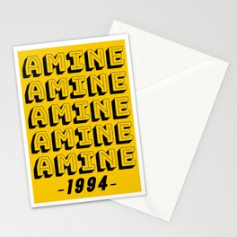 AMINE 1994 Stationery Cards