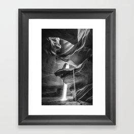 ANTELOPE CANYON XLI Framed Art Print