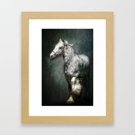 THE SILVER GYPSY Framed Art Print