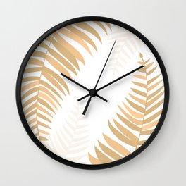GOLDPALMS Wall Clock