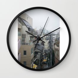 Tokyo Fog Wall Clock