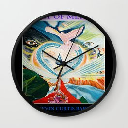SEAT OF MERCY Wall Clock