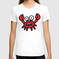 luigi T-shirts featuring Crab Luigi by leon-design