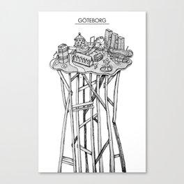 Göteborg Canvas Print