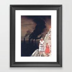 Time To Say Goodbye Framed Art Print