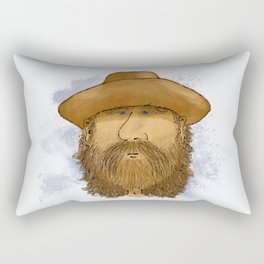 Flynt Locke, Cowboy Mountain Man Rectangular Pillow