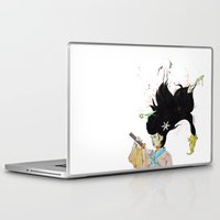 architect Laptop & iPad Skins featuring The Architect by 3:33