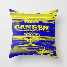 Ganesh rocks Throw Pillow
