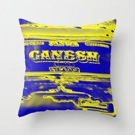 Ganesh rocks Throw Pillow