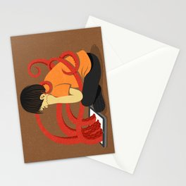 Squid kid Stationery Cards
