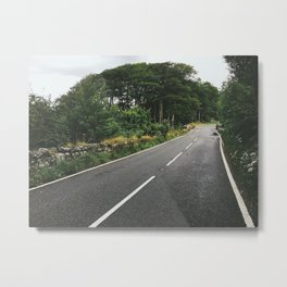 Roads of Dartmoor Metal Print