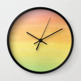 Rastafarian Ombre Wall Clock