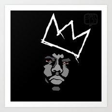 Biggie Basquiat Art Print