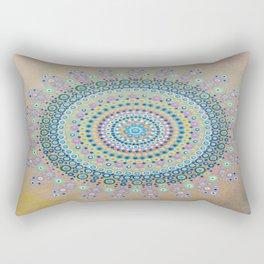 Mursy Hill Wish Board Mandala Rectangular Pillow