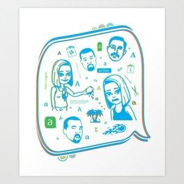 gurlfriend Art Print
