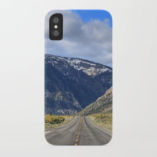Hills Ahead iPhone Case
