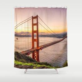 San Francisco 03 - USA Shower Curtain