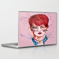 key Laptop & iPad Skins featuring Key by Isaacson1974