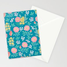 Hexagon floral 2 Stationery Cards