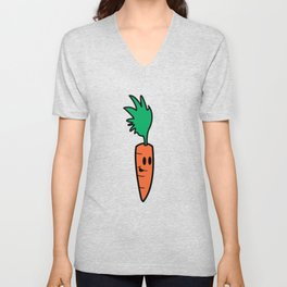 Chip Carrot Unisex V-Neck