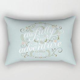 Big Adventure Rectangular Pillow