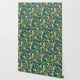 Emerald Fairy Forest Wallpaper
