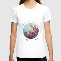 cherry blossoms T-shirts featuring cherry blossoms by fluidgold