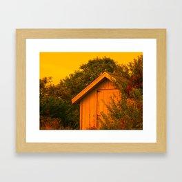Martha's Vineyard Shed Framed Art Print