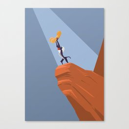 The Lion King (with a penis) Canvas Print