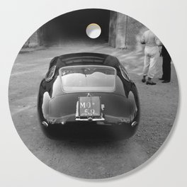 1957 4.5 Coupe, Modena, Italy Italian Sport Car Factory Photograph Cutting Board