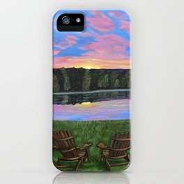 Facing Each New Day...Together iPhone Case