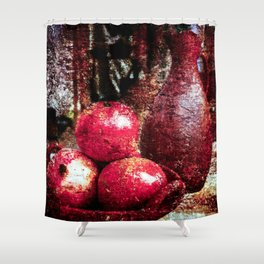 Pomegranates And A Pitcher Shower Curtain