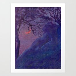 """""""We have voided all but freedom and all but our own joy"""" (Margaret C. Cook, Leaves of Grass, 1913) Art Print"""