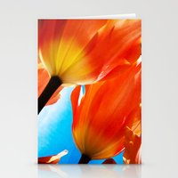 tulips Stationery Cards featuring Tulips by Ylenia Pizzetti