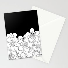 Cherry Blossom Boarder Stationery Cards
