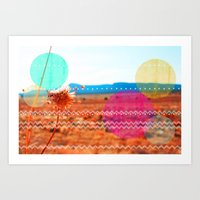 wind Art Prints featuring Wind by Kakel-photography