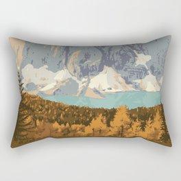 Kootenay National Park Rectangular Pillow